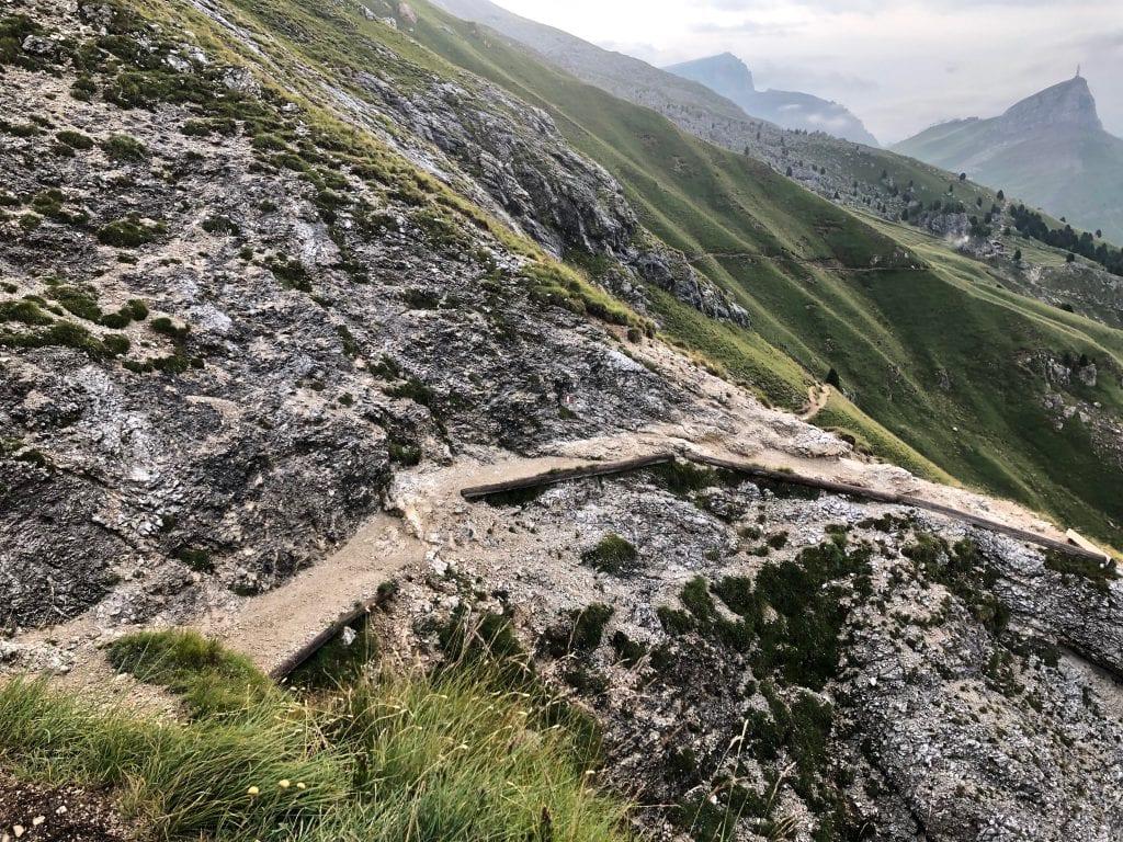 Sentiero per il Sassopiatto