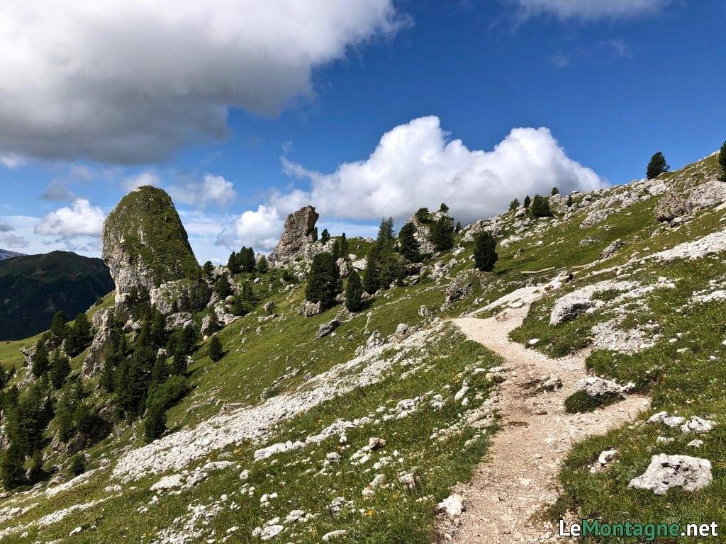 sentiero verso malga pieralongia