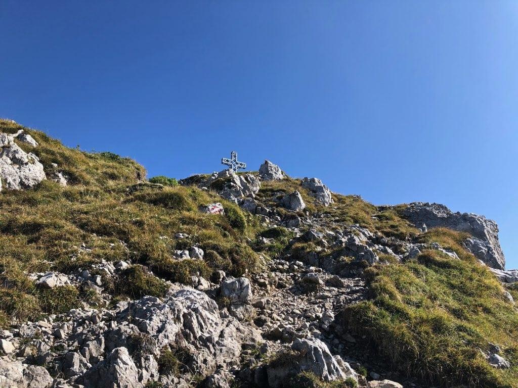 croce di vetta monte alben