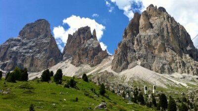 Sassolungo Sassopiatto Val Gardena