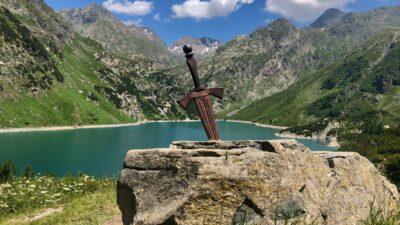 lago del barbellino rifugio curo spada nella roccia