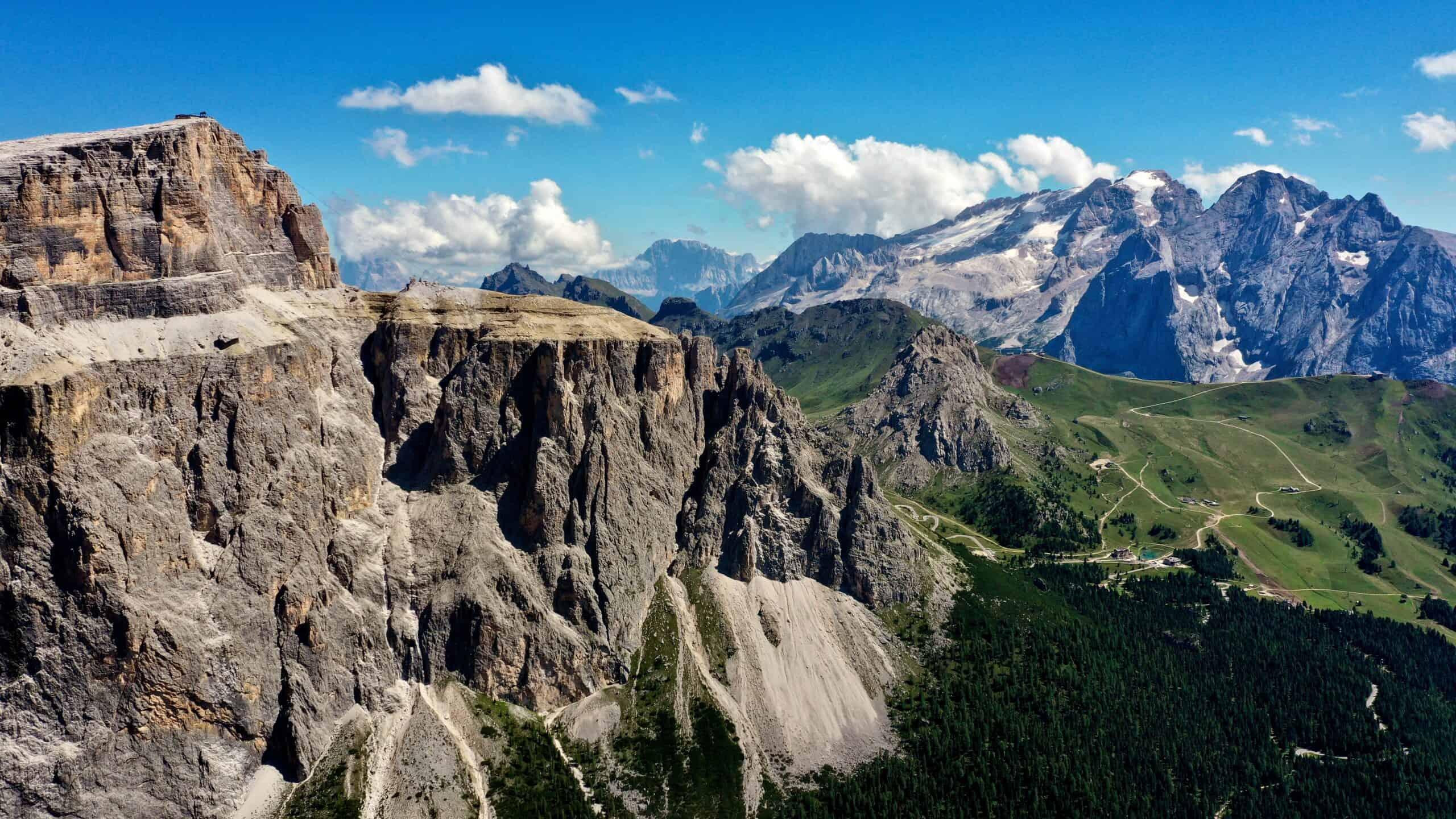 Trekking sulle Dolomiti: Marmolada, Gruppo del Sella, Gruppo del Sassolungo e Catinaccio