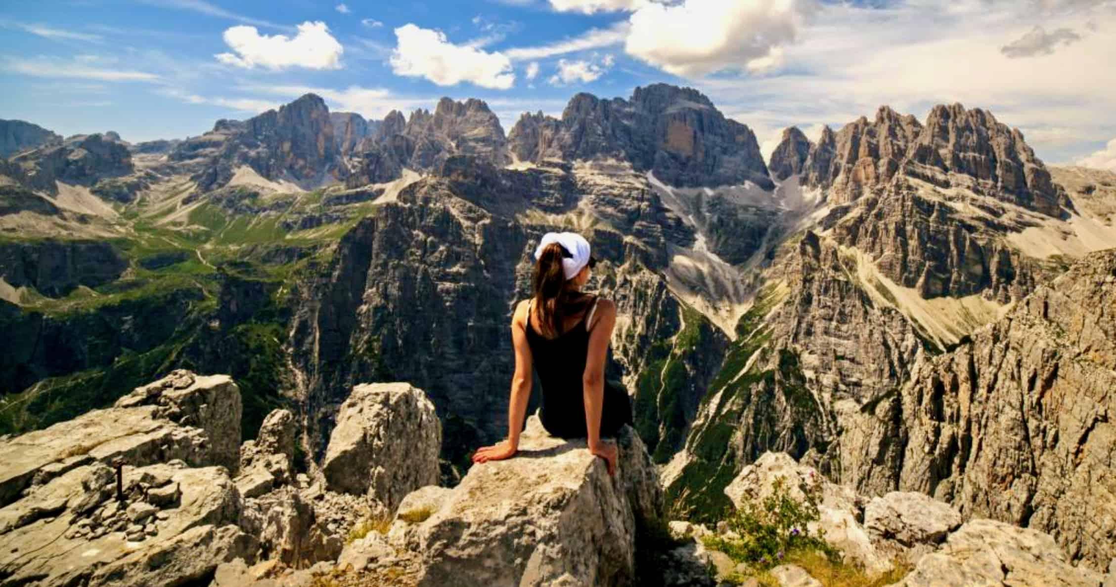 Trekking sulle Dolomiti di Brenta e Lago di Tovel