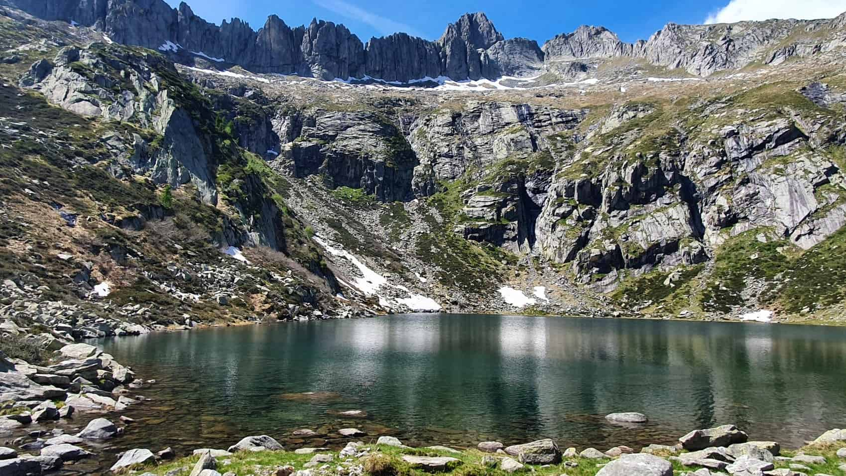 Lago di Darengo e Capanna Como
